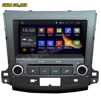 Navitopia 8 inch Android 5.1/Android 6.0 Octa core 2 ГБ автомобиль радио GPS для mitsubishi outlander 2005- dvd с Bluetooth, Wi-Fi